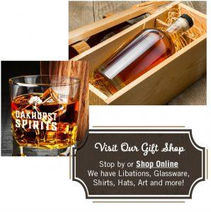 Gift Shop at Oakhurst Spirits