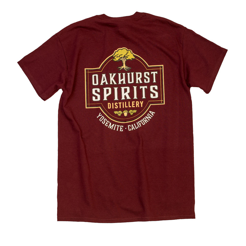 Oakhurst Spirits Red T-Shirt