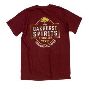 Oakhurst Spirits Red T-Shirt
