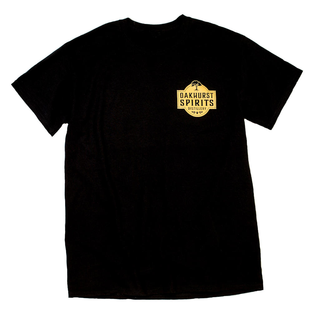 Oakhurst Spirits Black T-Shirt
