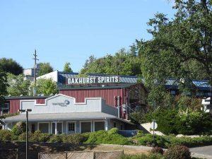 Exterior of Oakhurst Spirits in Oakhurst, California