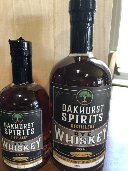 Oakhurst Spirits Rye Whiskey
