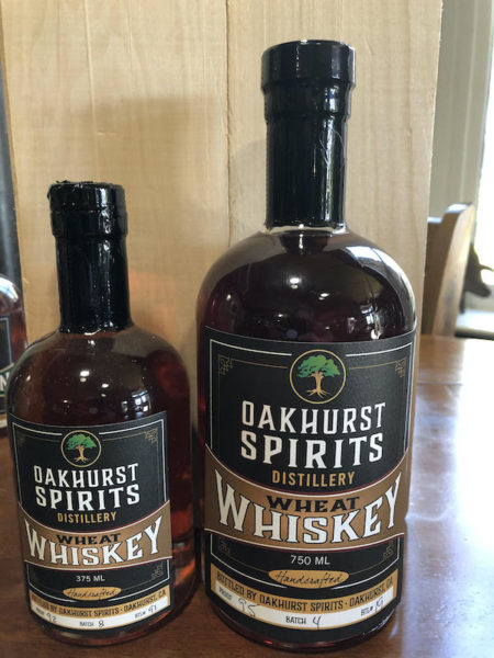 Oakhurst Spirits Wheat Whiskey