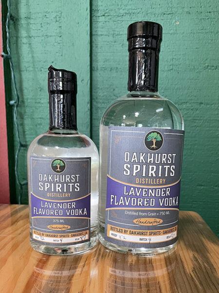 Oakhurst Spirits' Lavender Vodka